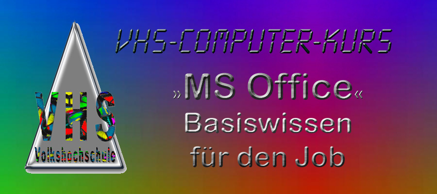 MS Office 2016 - Basiswissen für den Job @ Konrad-Adenauer-Schule | Asbach | Rheinland-Pfalz | Deutschland