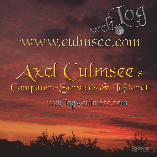 webLog Axel Culmsee
