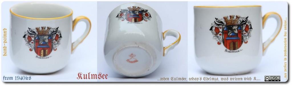 Tasse mit Kulmsee-Wappen