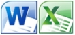 Word Excel (Symbole)