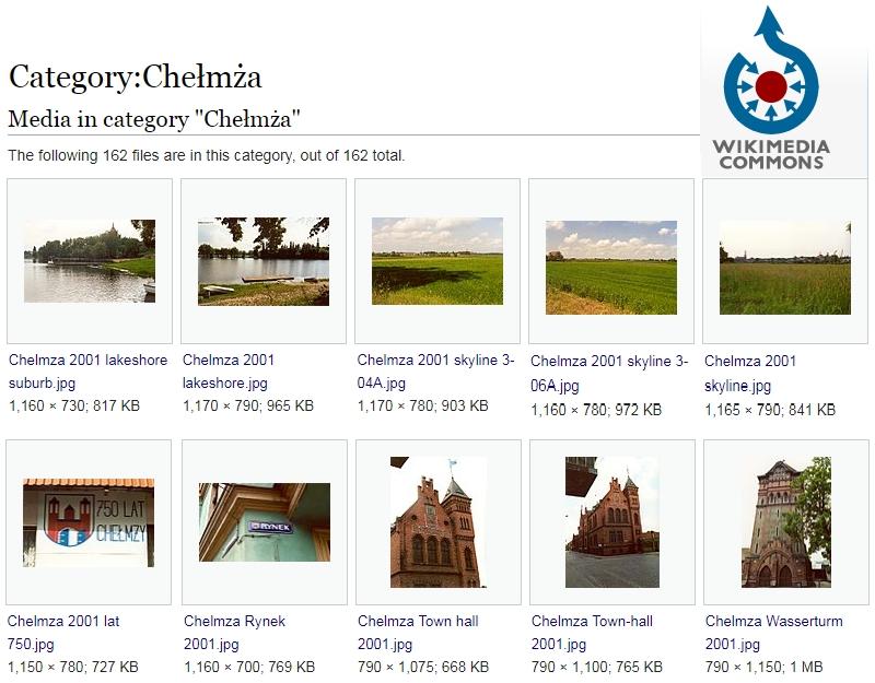 Wikimedia-Kategorie Chełmża