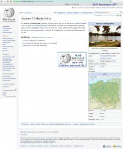 Jezioro Chelmzynskie, Wikipedia DE