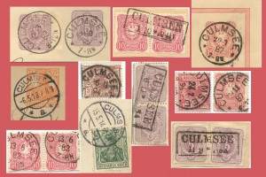 Culmsee postmarks
