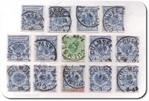 Culmsee-Stempelungen 14-blue
