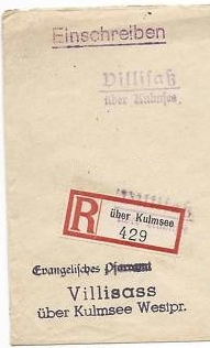 Kulmsee R-letter cut