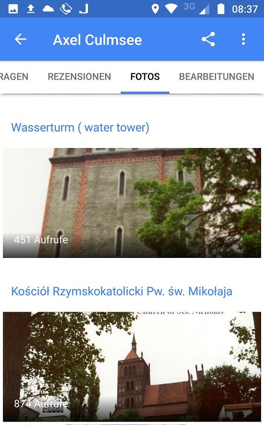 Chelmza Wasserturm, Sts. Nicholas etc.