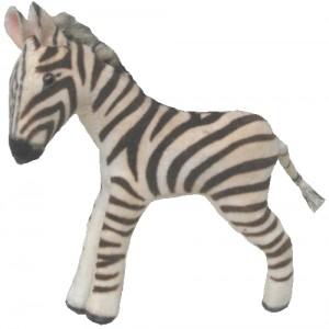 Zebra-Figur, freigestellt