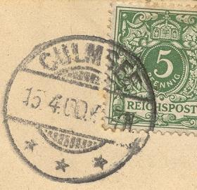 culmsee-1900-gestempelt