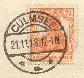culmsee-gestempelte_marke 1918-11-21