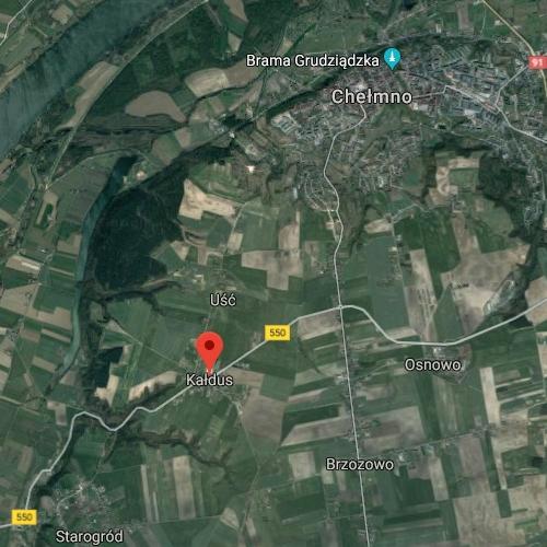 Kaldus south of Chelmna near Vistula