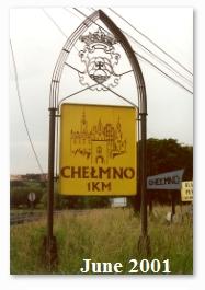 road sign Chelmno