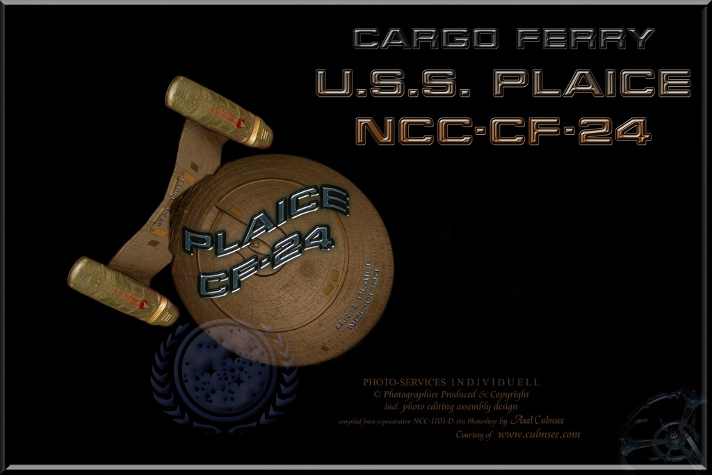 U.S.S. PLAICE   NCC-CF-24