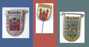 heraldic figures Kulmsee, Chelmza, Kulm