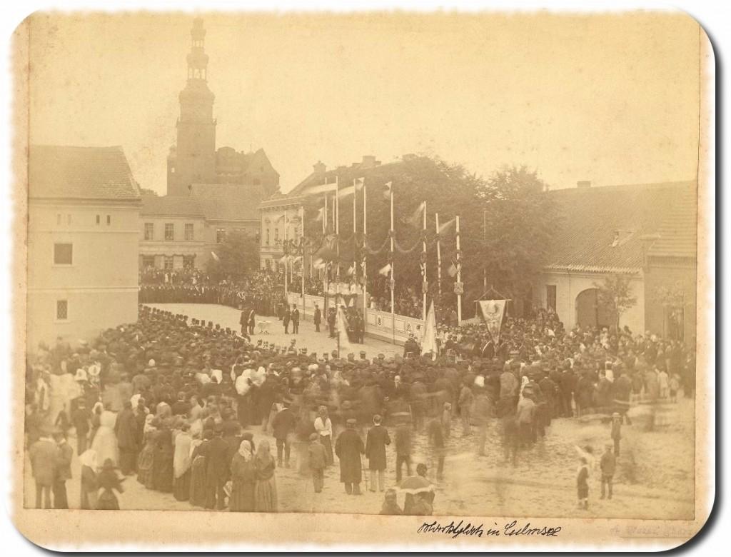 Culmsee Marktplatz (Photo circa 1870)