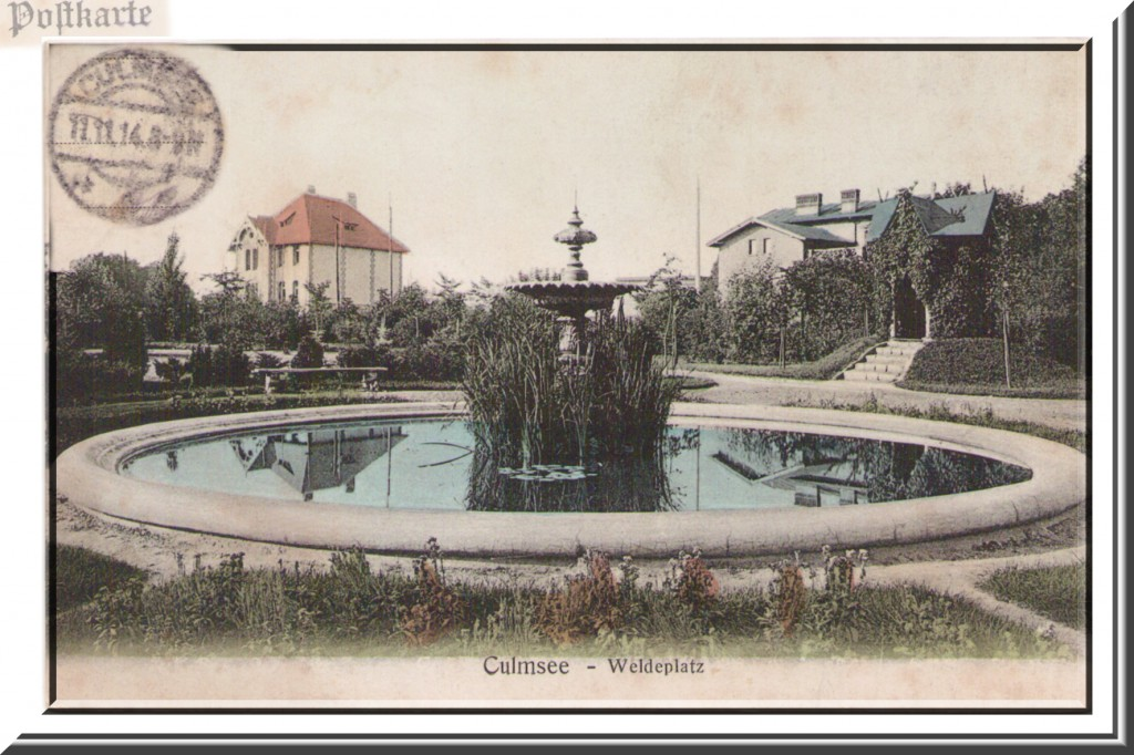 Culmsee - Weldeplatz (1914)