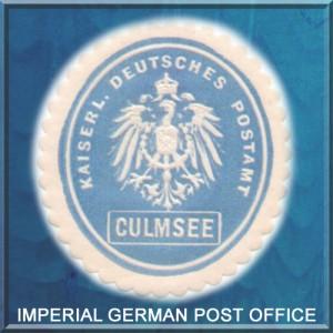 Postamt Culmsee Siegelmarke
