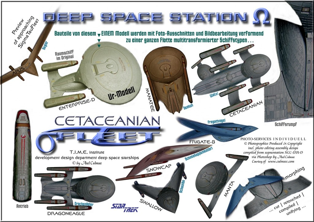 Fleet starships examples