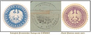 seagl badges Amtsgericht Culmsee