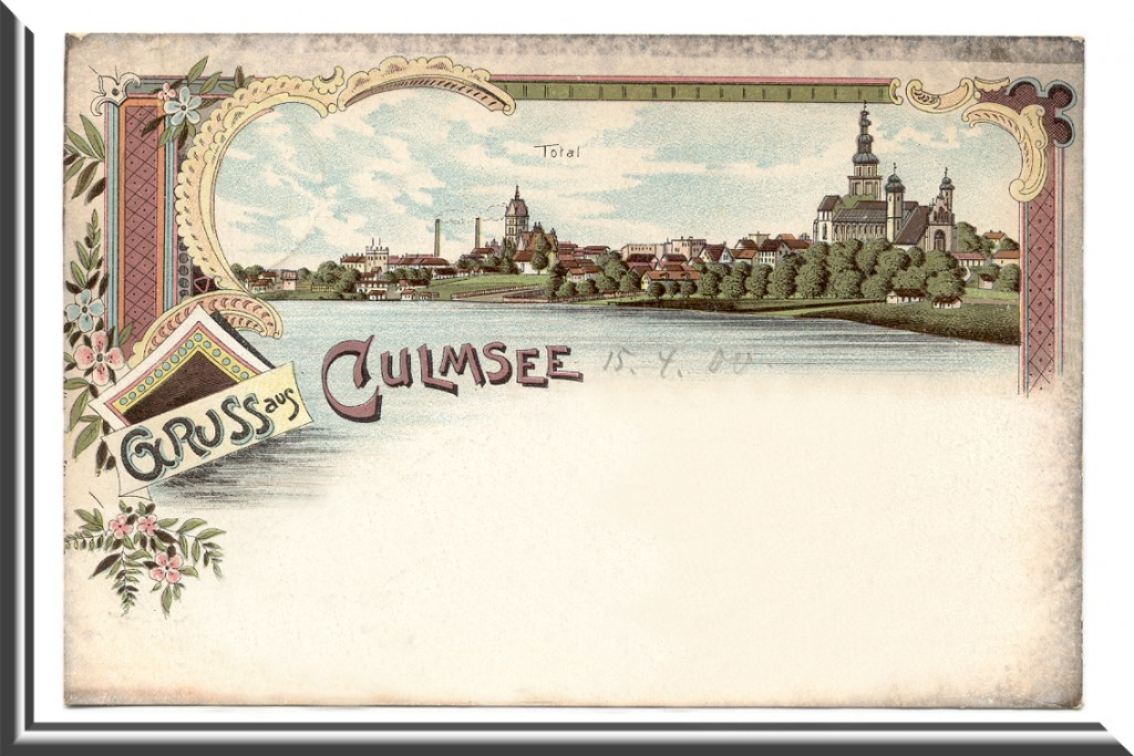 Culmsee postcard lithographic print