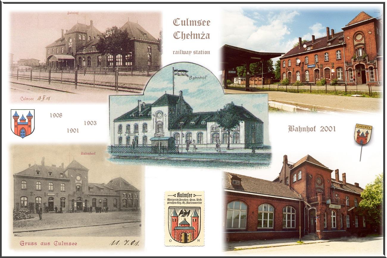 Chelmza's railway station