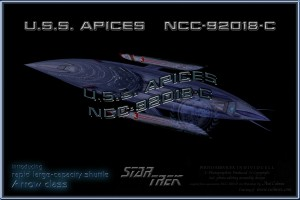 APICES NCC-92018-C Arrow class