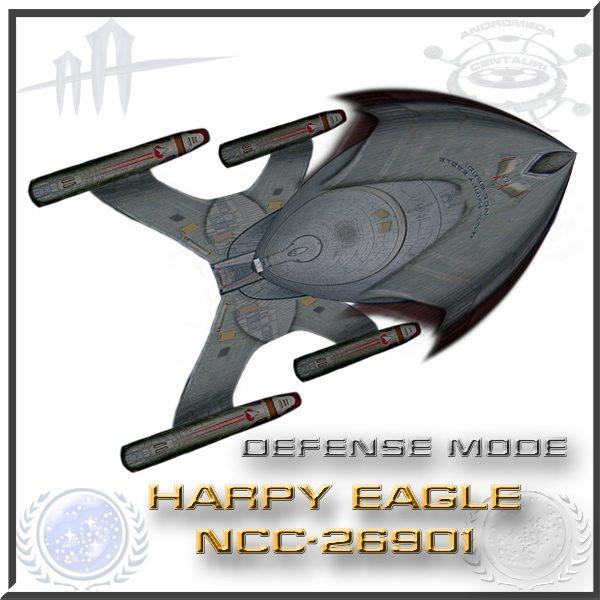 HARPY EAGLE NCC-26901 defense mode