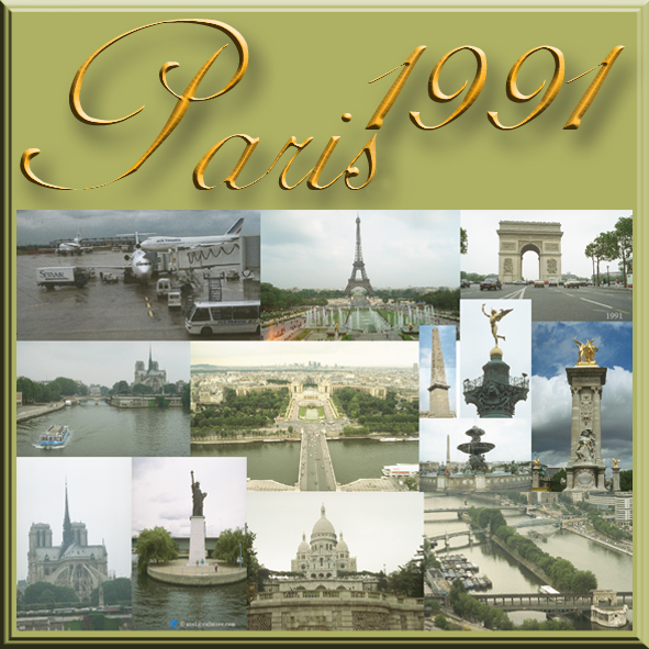 Paris 1991 collage