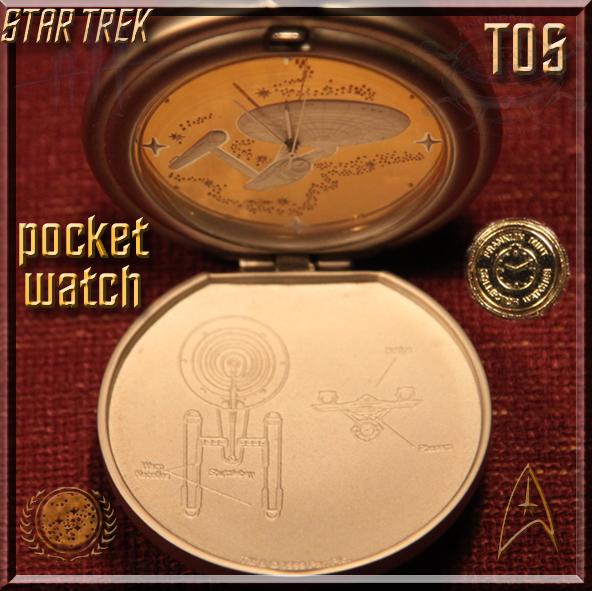 Star Trek TOS pocket watch