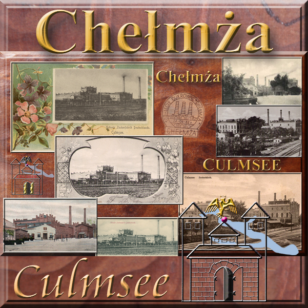 Culmsee Zuckerfabrik Collage