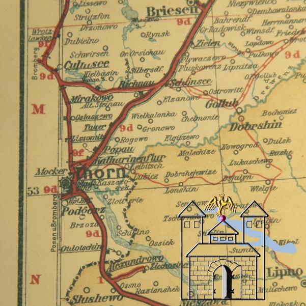 Culmsee Karte 1899