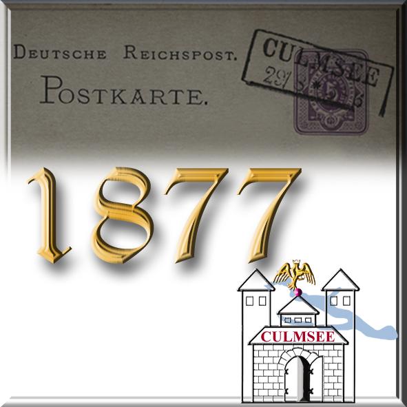 Culmsee Postkarte 1877