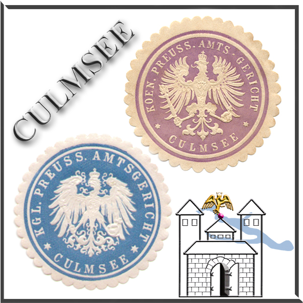 Culmsee Siegelmarken Amtsgericht