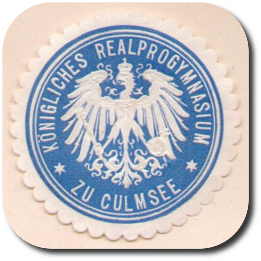 seal badge Gymnasium Chelmza Culmsee