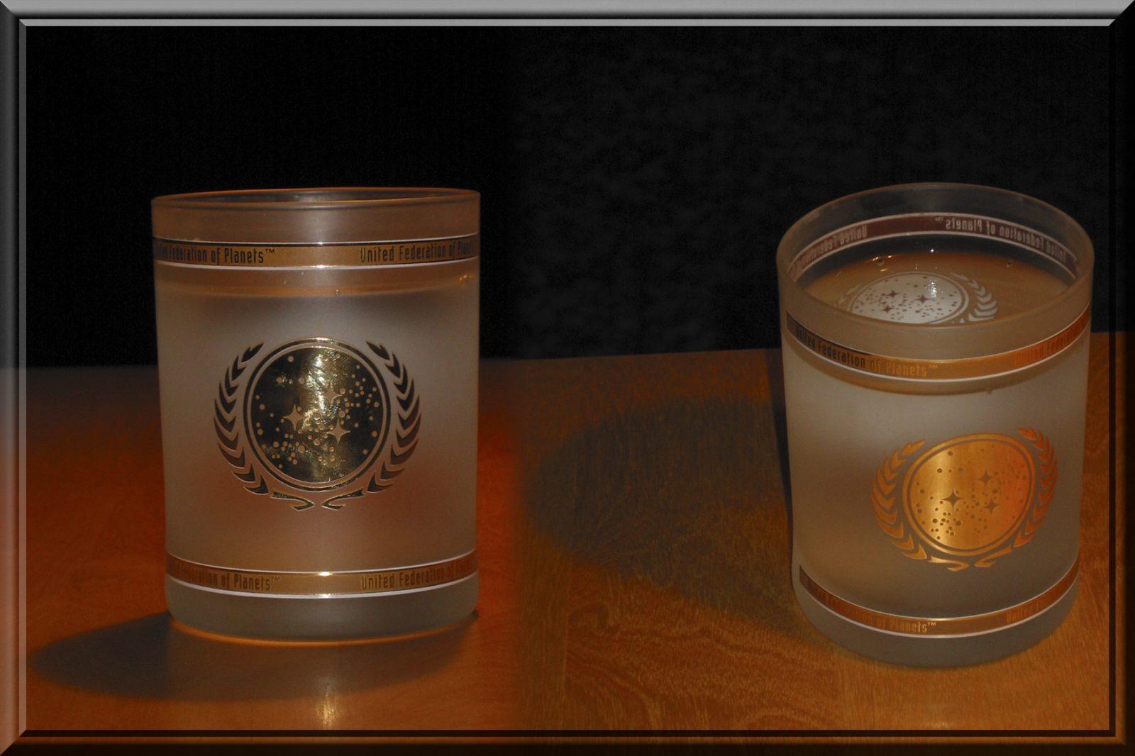 UFP water glas