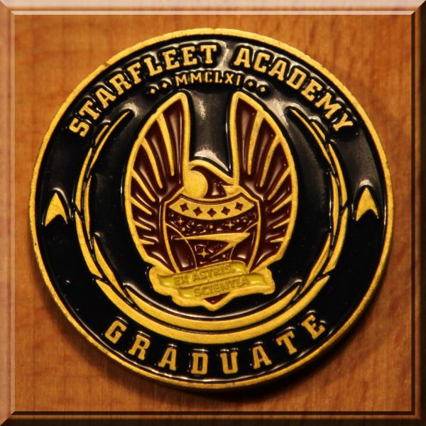 Star Trek Graduate coin