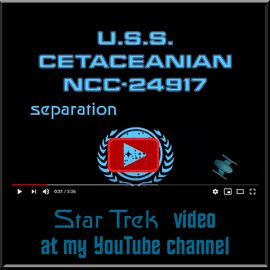 video starship Cetaceanian separation