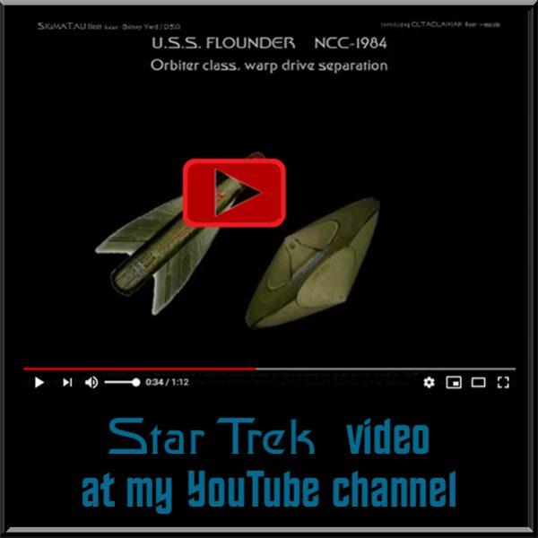 video starship Flounder separation