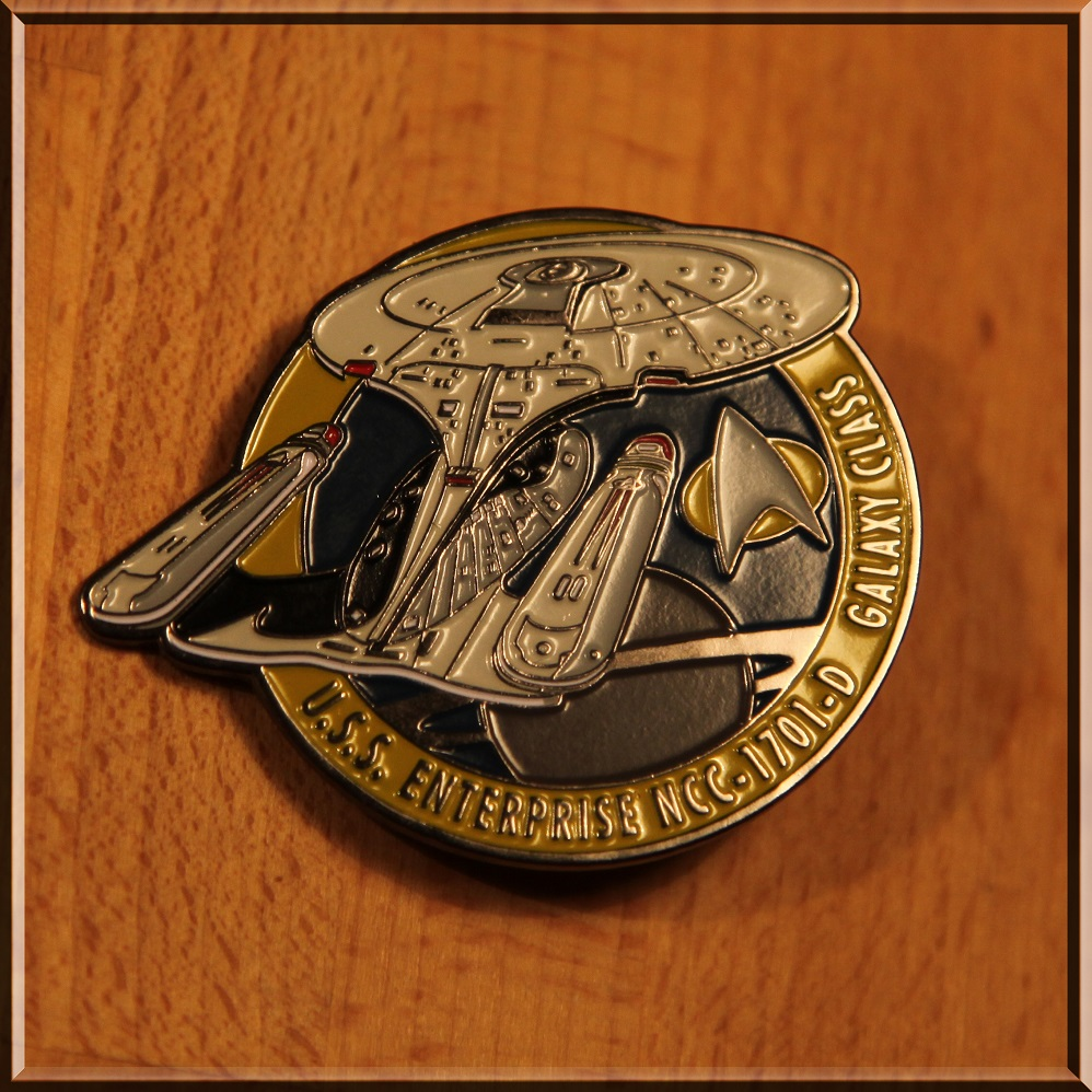 Pin NCC-1701-D