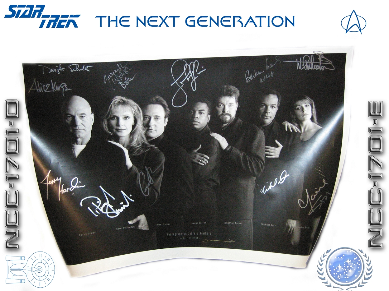 TNG autographs