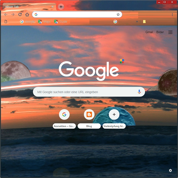 Chrome Theme Luni-Solar-Tide by Axel Culmsee