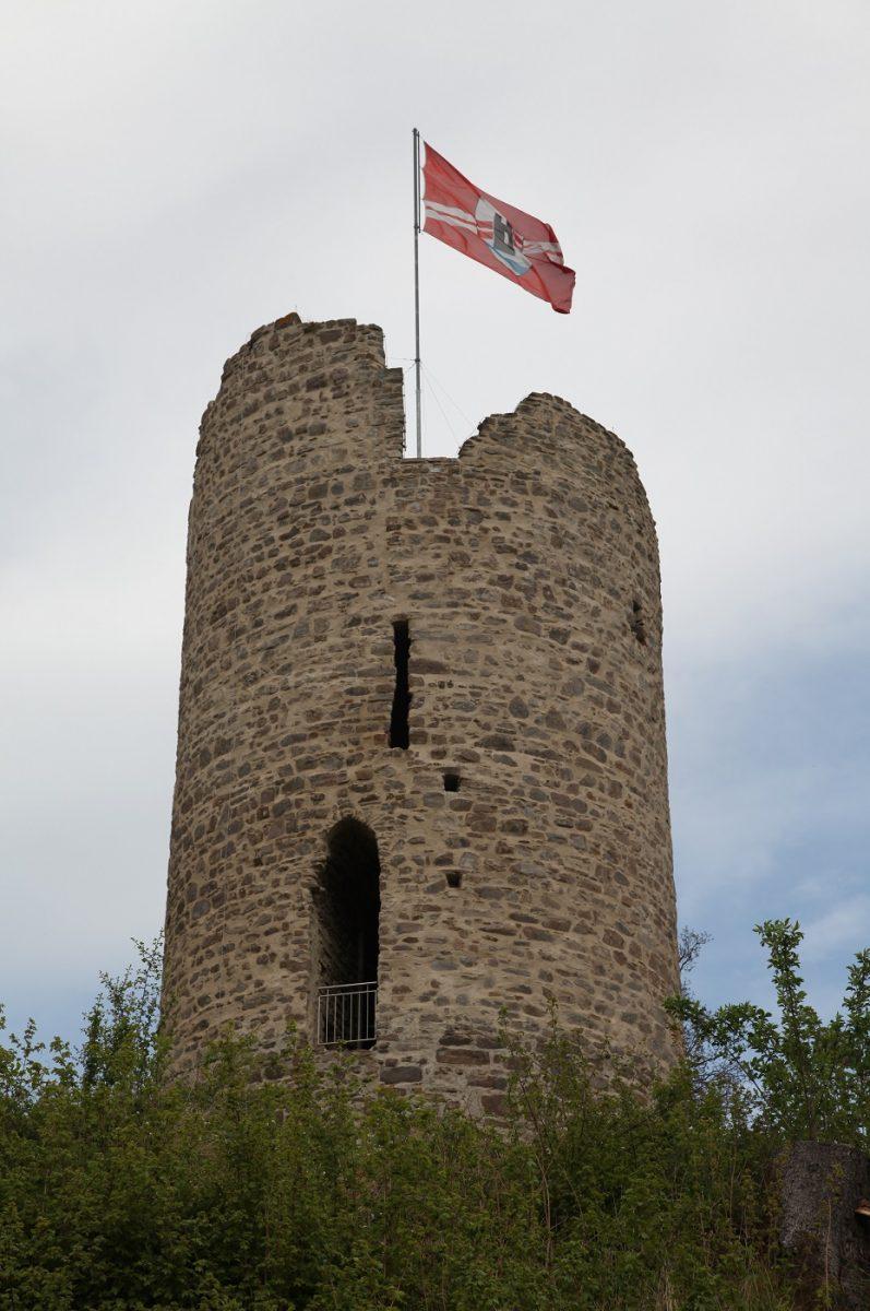 Burglahr Turm Burg Lahr