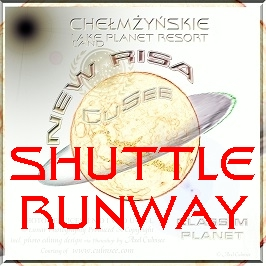 New Risa shuttle runway