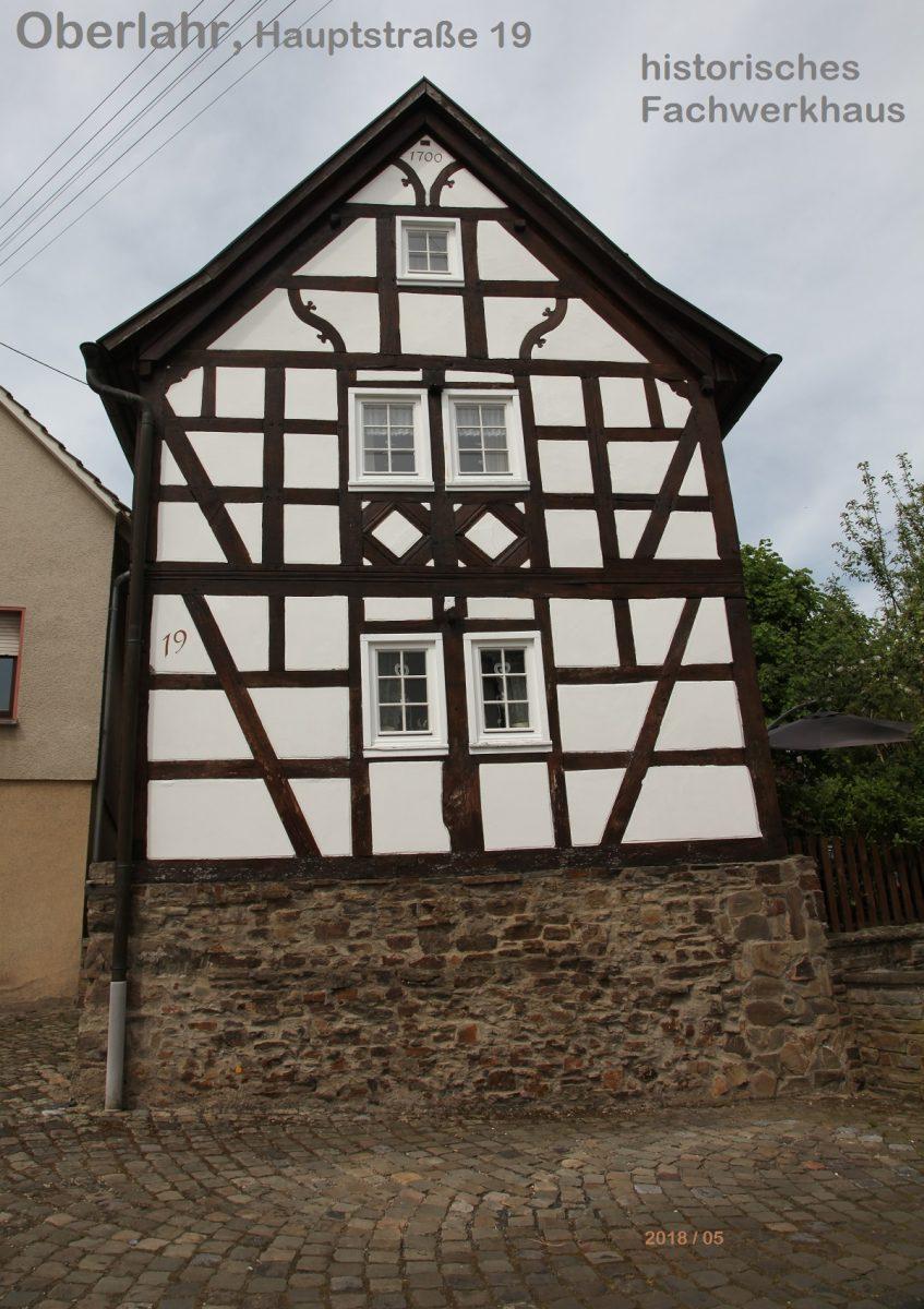 Oberlahr Fachwerkhaus Hauptstr.
