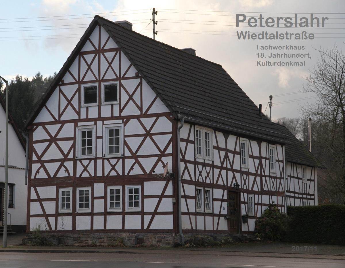 Peterslahr Fachwerkhaus Wiedtalstr.