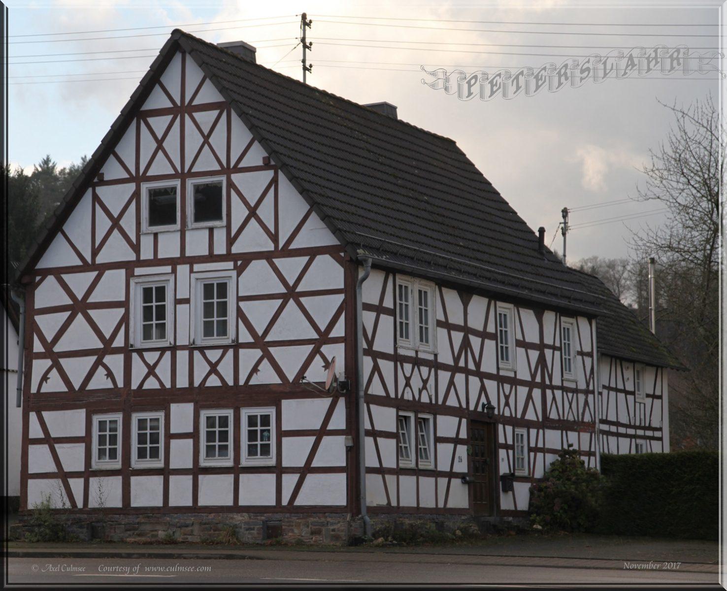 Peterslahr Fachwerkhaus 18th century