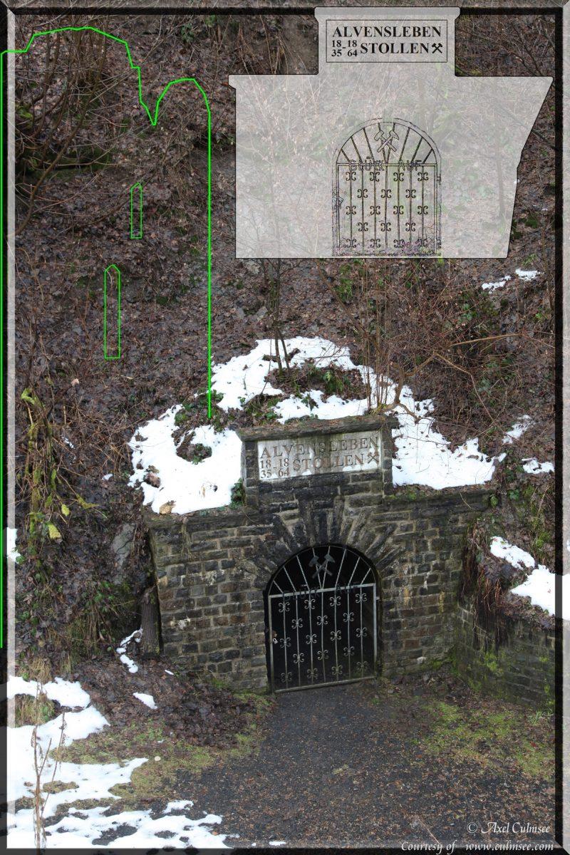 Burglahr Alvenslebenstollen Eingang