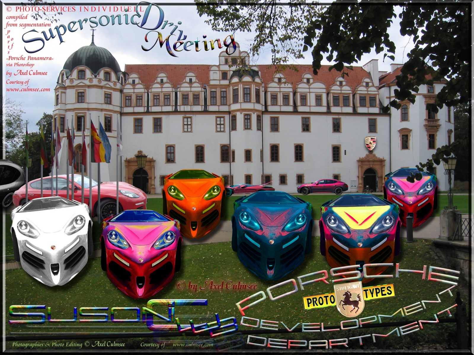 Porsche SuperSonic-Meeting Celle castle