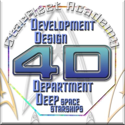 Development Design Department Deep Space starships Logo