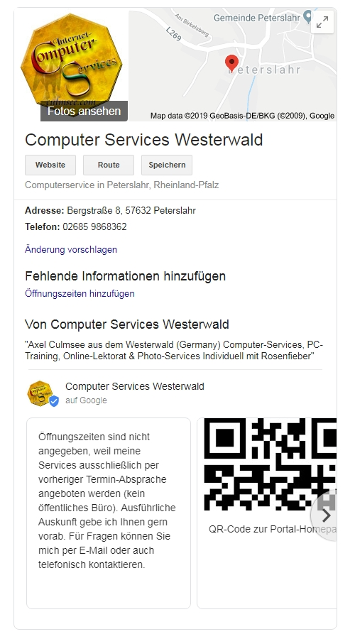 Computer-Services Westerwald Axel Culmsee