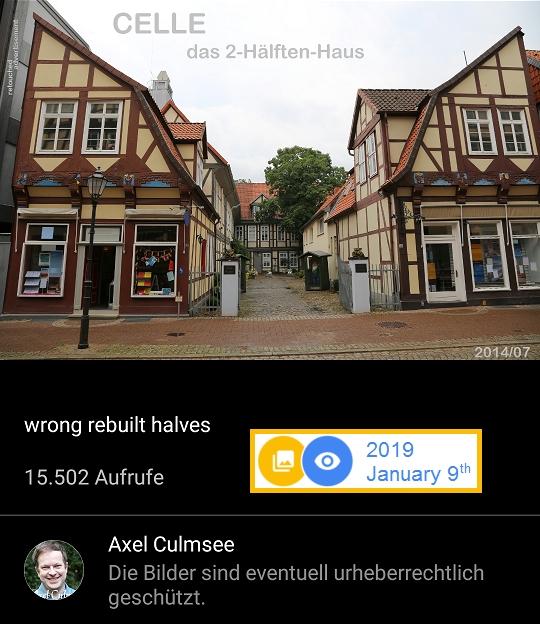 Celle 2-Hälften-Haus Bergstr.